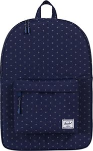 Read more about Herschel supply co classic backpack peacoat gridlock