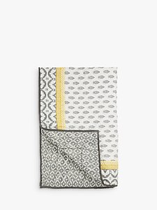Read more about John lewis fusion orchha quilted bedspread saffron grey