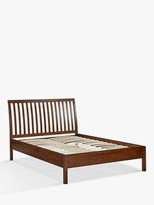 Read More About John Lewis Medan Bed Frame King Size Dark Wood