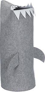 Read more about Little home at john lewis shark felt storage bin grey
