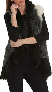 Read more about Betty barclay faux fur gilet one size cream black