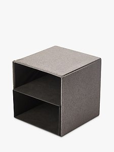 Read more about Kvell stax storage cube grey mid