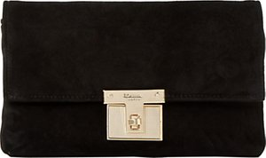 Read more about Dune birchin clutch bag black