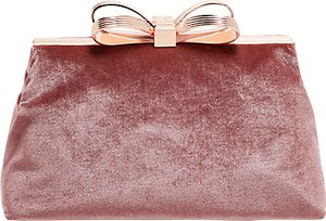 Read more about Ted baker cena bow evening clutch bag