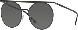 Read more about Giorgio armani ar6069 round sunglasses black