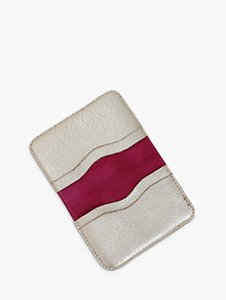 Read more about Miller jeeves leather card wallet platinum