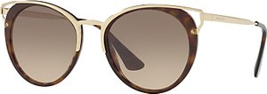 Read more about Prada pr 66ts round sunglasses tortoise