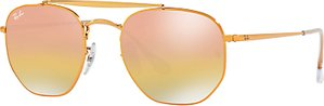 Read more about Ray-ban rb3648 square sunglasses bronze mirror pink