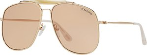 Read more about Tom ford ft0557 connor aviator sunglasses gold beige