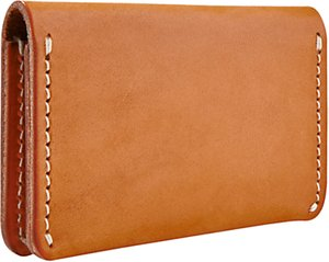 Read more about Red wing leather card holder wallet tan