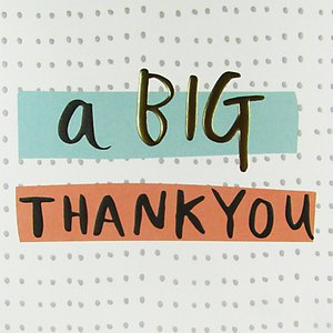Read more about Caroline gardner a big thank you card