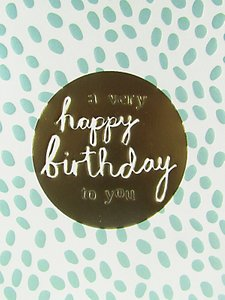 Read more about Caroline gardner happy birthday card