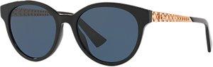 Read more about Christian dior diorama oval sunglasses black blue