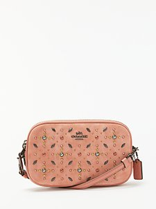 Read more about Coach leather cross body clutch bag