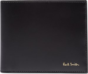 Read more about Paul smith classic stripe bifold leather wallet black