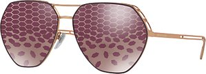 Read more about Bvlgari bv6098 aviator sunglasses gold purple