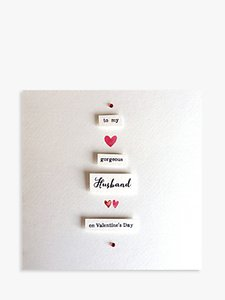 Read more about Blue eyed sun husband valentine s day card
