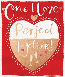 Read more about Cardmix perfect together valentine s day card