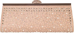 Read more about Chesca satin diamante clutch bag
