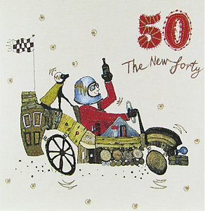 Read more about Woodmansterne motoring along 50th birthday card