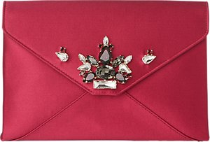 Read more about L k bennett embellished alena satin clutch bag