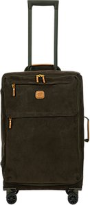 Read more about Bric s life lightweight 4-wheel 65cm medium spinner suitcase olive