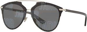 Read more about Christian dior j adior polarised oval sunglasses black grey