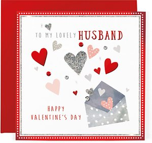 Read more about Hotchpotch husband valentine s day card