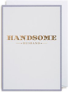 Read more about Lagom designs handsome husband valentine s day card