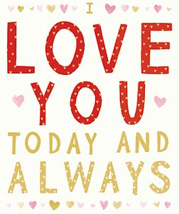 Read more about Cardmix love you always valentine s day card