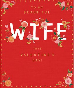 Read more about Cardmix beautiful wife valentine s day card