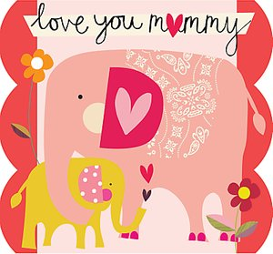 Read more about Caroline gardner elephant mother s day card