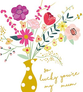 Read more about Caroline gardner so lucky mother s day card