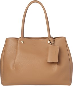 Read more about L k bennett regan leather tote bag light tan