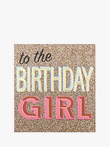 Read more about Caroline gardner birthday girl card