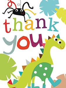Read more about Caroline gardner dinosaur thank you cards pack of 10