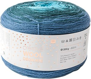 Read more about Rico creative wool degrade 4 ply yarn 200g