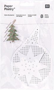 Read more about Rico christmas shaped boards embroidery kit