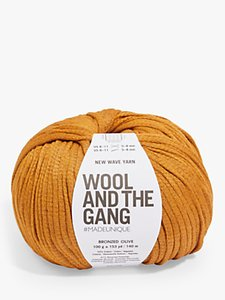 Read more about Wool and the gang new wave worsted yarn 100g