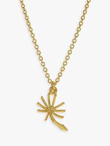 Read more about Alex monroe dandelion pendant necklace gold