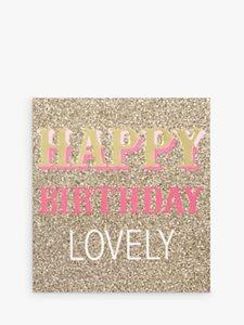 Read more about Caroline gardner glitter birthday card