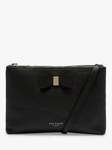 Read more about Ted baker atrini leather shoulder bag black