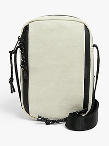 Read more about Kin rika nylon canvas mix cross body bag