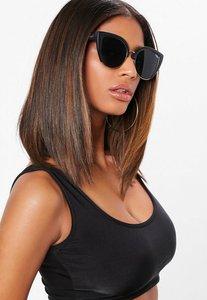Read more about Quay australia x missguided matte black gold smoke oh my dayz sunglasses black