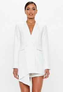 Read more about White tuxedo blazer dress white