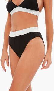 Read more about Black jersey high waisted knicker black