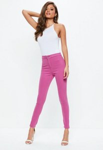 Read more about Pink highwaisted skinny jeans pink
