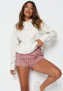 Read more about Pink tie waist runner shorts pink