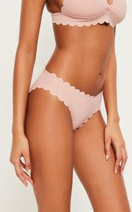 Read more about Nude scallop hipster bikini bottoms mix match beige