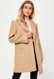 Read more about Tan slim fit coat beige